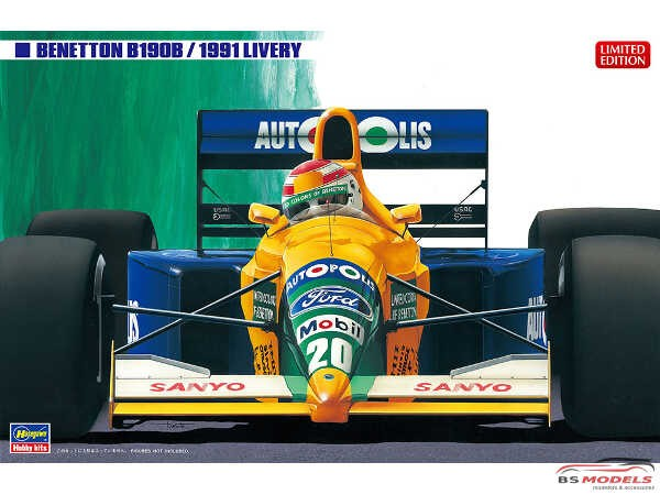 HAS20356 Benetton B190 B 1991 Plastic Kit