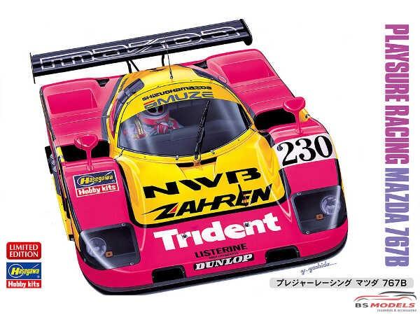HAS20359 Mazda 767 B Playsure Racing Plastic Kit