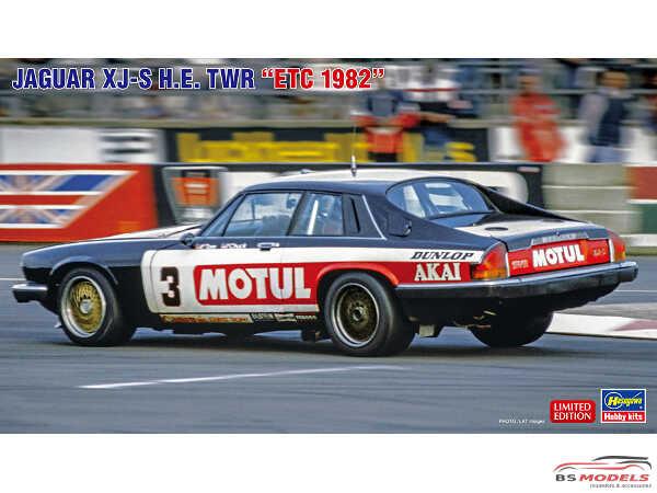 HAS20362 Jaguar XJ-S HE  TWR  ETC 1982 Plastic Kit