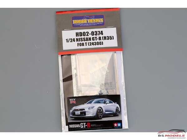 HD020374 Nissan GT-R (R35) detail set FOR TAM Multimedia Accessoires