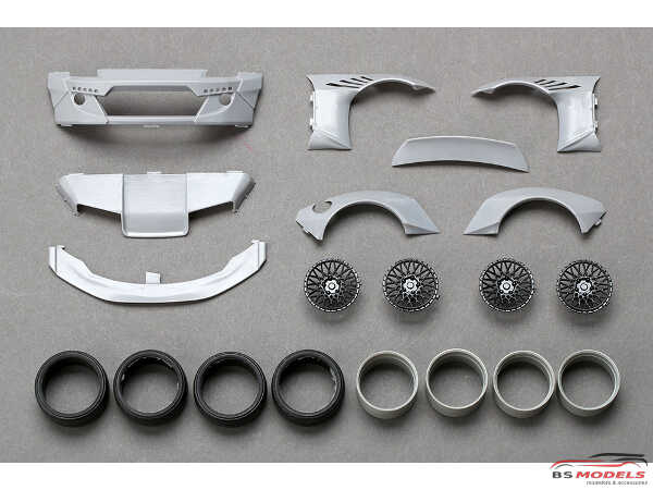 HD030460 RB Nissan 350Z Wide Body kit FOR 350Z models (resin + PE) Multimedia Transkit