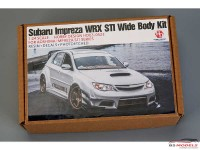 HD030523 Subaru Impreza WRX STI wide body kit FOR AOS Multimedia Transkit