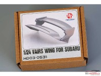 HD030531 Vairs wing for Subaru Resin Accessoires