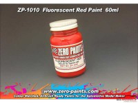 ZP1010 Fluorescent Red paint 60ml Paint Material