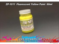 ZP1011 Fluorescent Yellow paint 60ml Paint Material