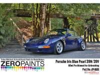 ZP1031-39N Porsche Iris Blue pearl  39N/39V  paint 60ml Paint Material