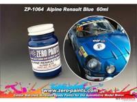 ZP1064 Renault Alpine Blue paint 60ml Paint Material