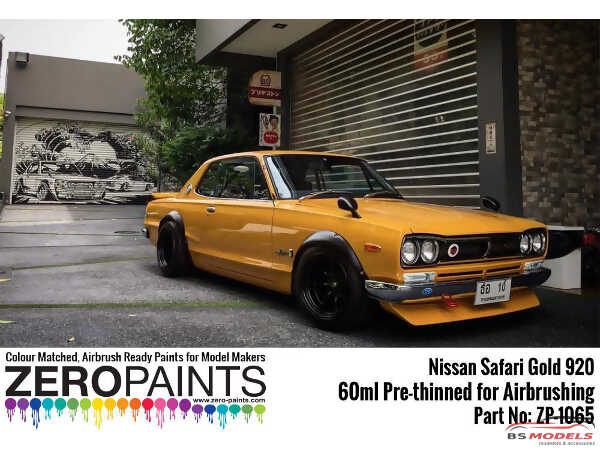 ZP1065-920 Nissan Safari Gold 920  paint 60ml Paint Material