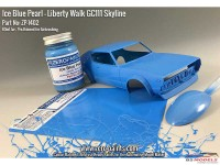 ZP1402 Ice Blue Pearl Paint for Liberty Walk GC111 Ken Mary Skyline 60 ml Paint Material