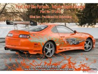ZP1413 Fast and the Furious Toyota Supra Orange Pearl paint 60 ml Paint Material