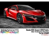 ZP1479-R36M Honda NSX (Acura) 2016 Valencia Red Pearl  R36M 60ml Paint Material