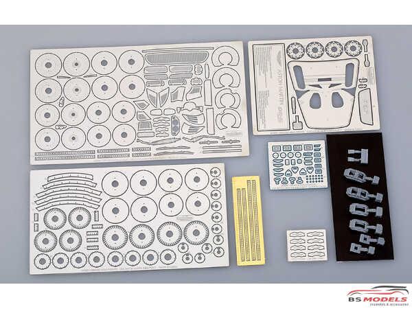 HD020282 Aston Martin DBS detail set  For TAM Multimedia Accessoires