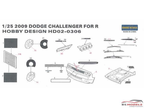 HD020306 2009 Dodge Challenger For R Multimedia Accessoires