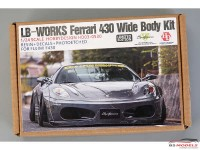 HD030530 LB-Works Ferrari 430 wide body transkit Multimedia Transkit