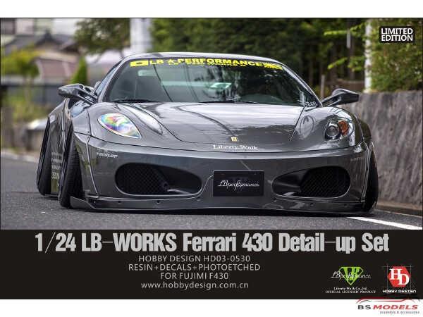 HD030530 LB-Works Ferrari 430 wide body transkit Multimedia Transkit