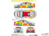 SK24012 Chevrolet Cruze WTCC 2012 Macau GP  #20 Waterslide decal Decal