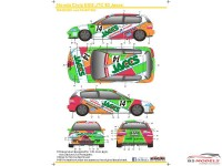 SK24045 Honda Civic EG6  Jaccs Ver2 Waterslide decal Decal
