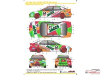 SK24046 Honda Civic EG9  Jaccs Waterslide decal Decal