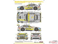 SK24069 Mercedes-Benz AMG GT FIA WC Macau 17 Waterslide decal Decal