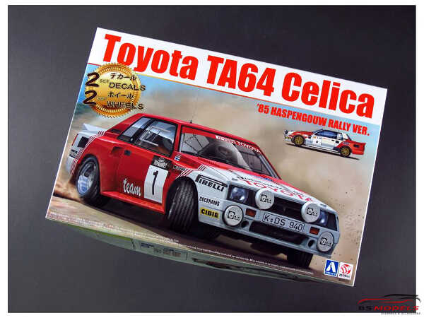 BEE24021 Toyota TA64  Celica  Haspengouw Rally 1985 Plastic Kit