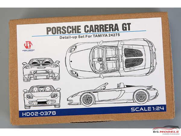 HD020378 Porsche Carrera GT detail set for TAM 24275 Multimedia Accessoires