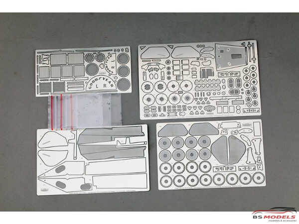 HD020380 Ferrari 312T2 detail set for HAS 23201 Multimedia Accessoires