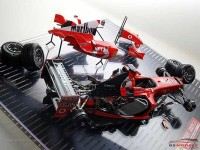 ZP1007-11 Ferrari Rosso Formula 1 Pre-2400  60ml Paint Material