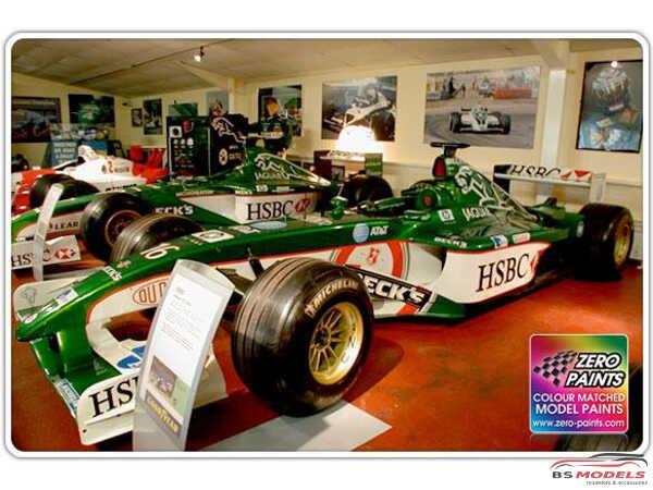 ZP1056 Jaguar Racing F1 green paint 60 ml Paint Material