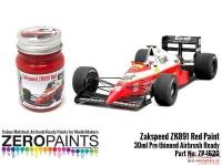 ZP1520 Zakspeed ZK891 Red paint 30ml Paint Material