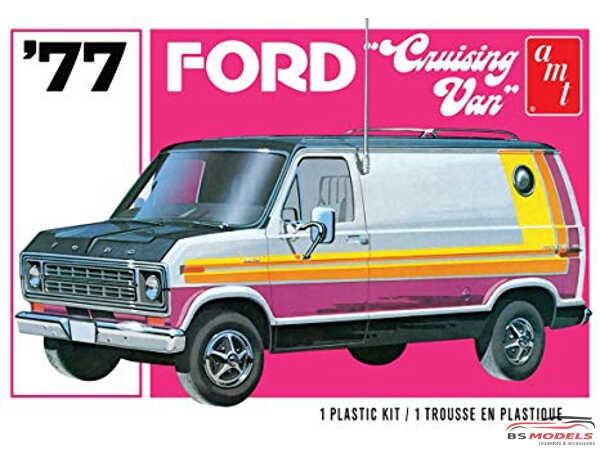 AMT1108 Ford Cruising Van '77 Plastic Kit