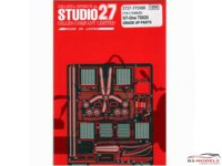 STU27FP2496 GT-ONE upgrade parts Etched metal Accessoires