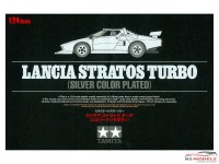 "TAM25418 Lancia Stratos Turbo  ""chroom aspect"" Plastic Kit"