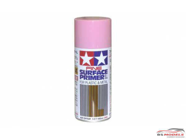 TAM87146 Tamiya Fine Surface Primer Pink / rose Paint Material