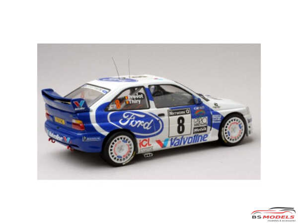 TK24017 Ford Escort WRC RAC Rally 1998  Kankkunen / Thiry Waterslide decal Decal