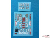 "TK24458 BMW M3  ""Bastos"" additif Tour de Corse 1989 For Beemax Waterslide decal Decal"