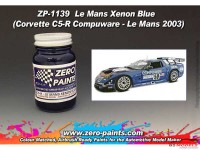 ZP1139 Corvette C5-R Le Mans Xenon blue paint 60ml Paint Material