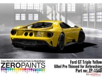 ZP1548 Ford GT Triple Yellow paint 60ml Paint Material