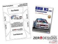 ZDWM0008 BMW M3 E30 Window painting masks (Beemax)) Multimedia Accessoires