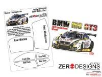 ZDWM0009 BMW M6  GT3 Window painting masks (Platz) Multimedia Accessoires