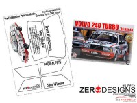 ZDWM0034 Volvo 240 Turbo Window painting masks (Beemax) Multimedia Accessoires