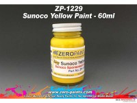 ZP1229 Sunoco yellow paint 60ml Paint Material
