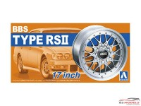 "AOS05241 BBS RS II  17 """" wheelset Plastic Kit"