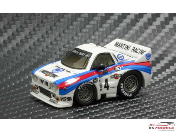 FW63 Lancia 037 rally Multimedia Kit