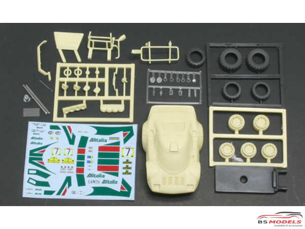 FW76 Lancia Stratos Gr4 safari Multimedia Kit