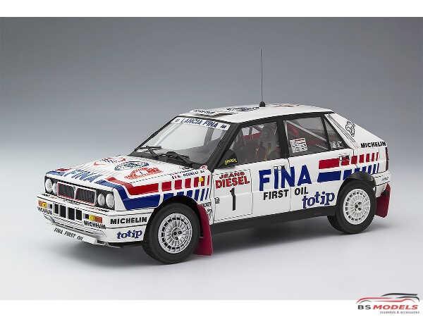 HAS20343 Lancia Delta HF 16V  San Remo Rally Plastic Kit