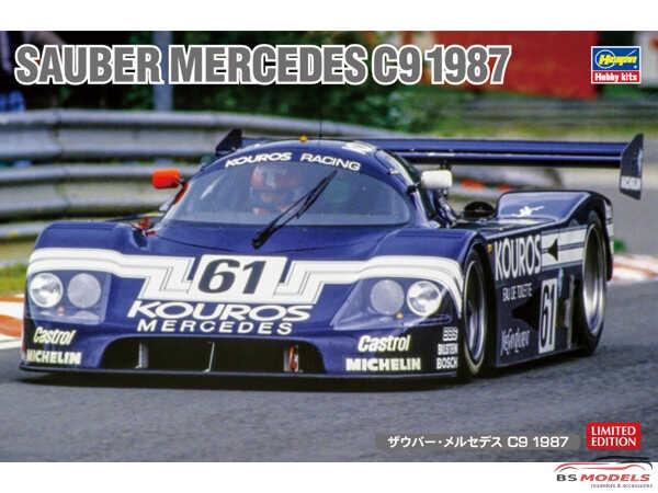 HAS20373 Sauber Mercedes C9  Kouros 1987 Plastic Kit