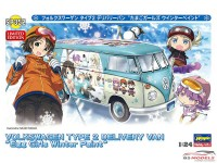HAS52152 VW EGGS  Girls Combi  Winter Paint Plastic Kit