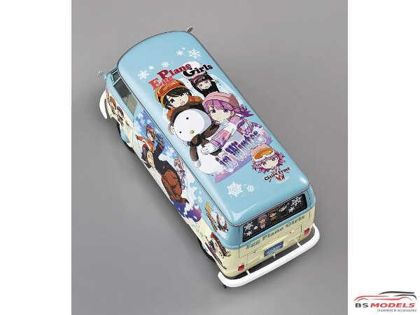 HAS52152 VW EGGS  Girls Combi  Winter Paint Plastic Kit