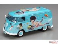 HAS52162 VW EGGS  Girls Combi  Summer Paint Plastic Kit
