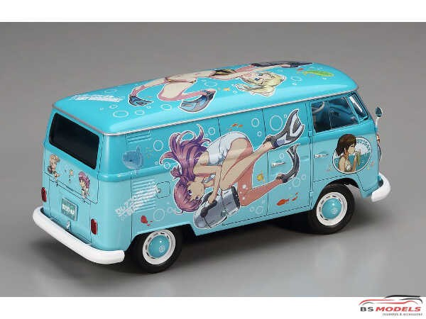HAS52162 VW EGGS  Girls Combi  Summer Paint Plastic Kit